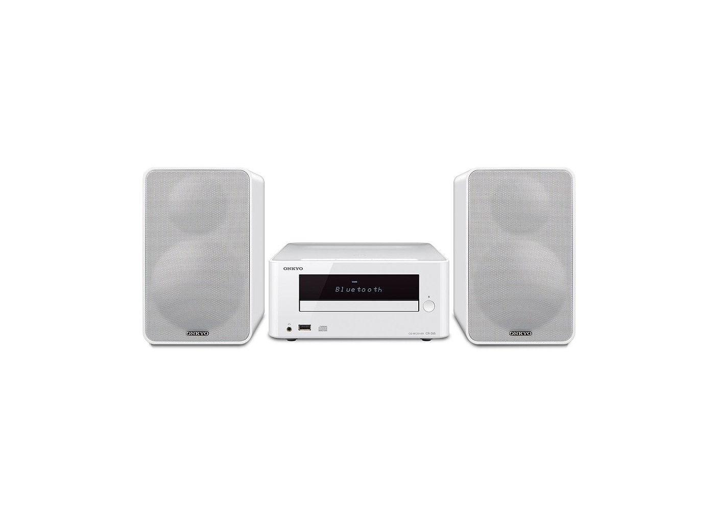 Onkyo Cs 265w White Colibrino Cd Hi Fi Mini System With