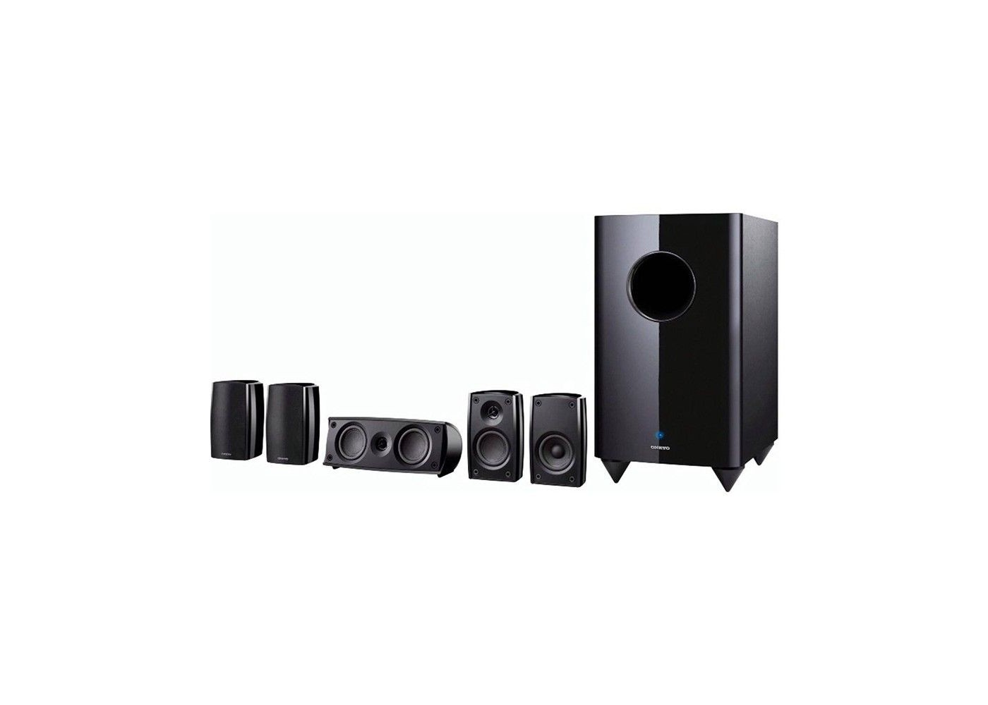 Onkyo Sks Ht690 Black 5 1 Channel Home Theater Speaker System