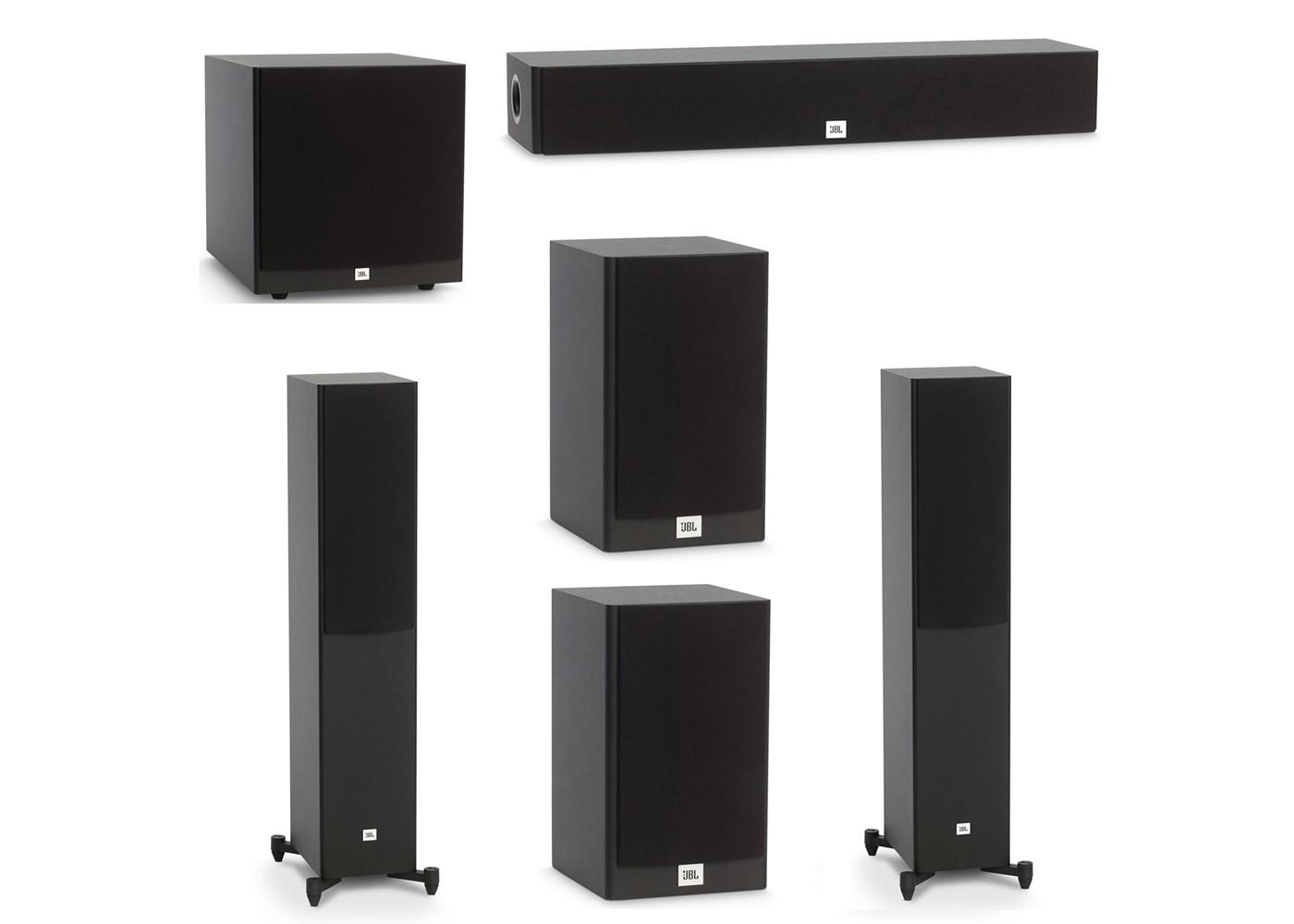 Jbl Home Speakers >> Jbl 5 1 System With 2 Jbl Stage A170 Floorstanding Speakers 1 Jbl