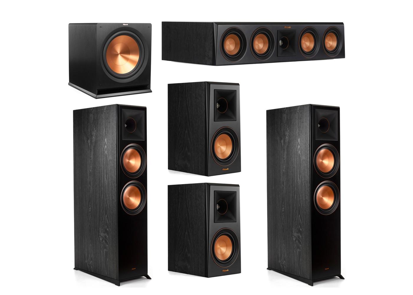 Klipsch Surround Sound >> Klipsch 5 1 Home Theater Surround Sound System For Sale