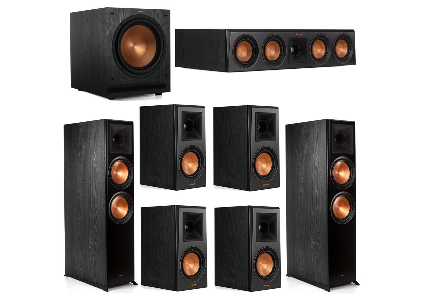 Klipsch Surround Sound >> Complete Klipsch 7 1 Home Theater Surround Sound System