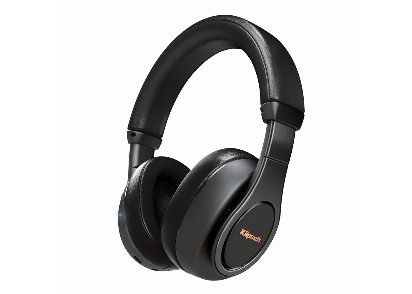klipsch reference over ear bluetooth black headphone. Black Bedroom Furniture Sets. Home Design Ideas