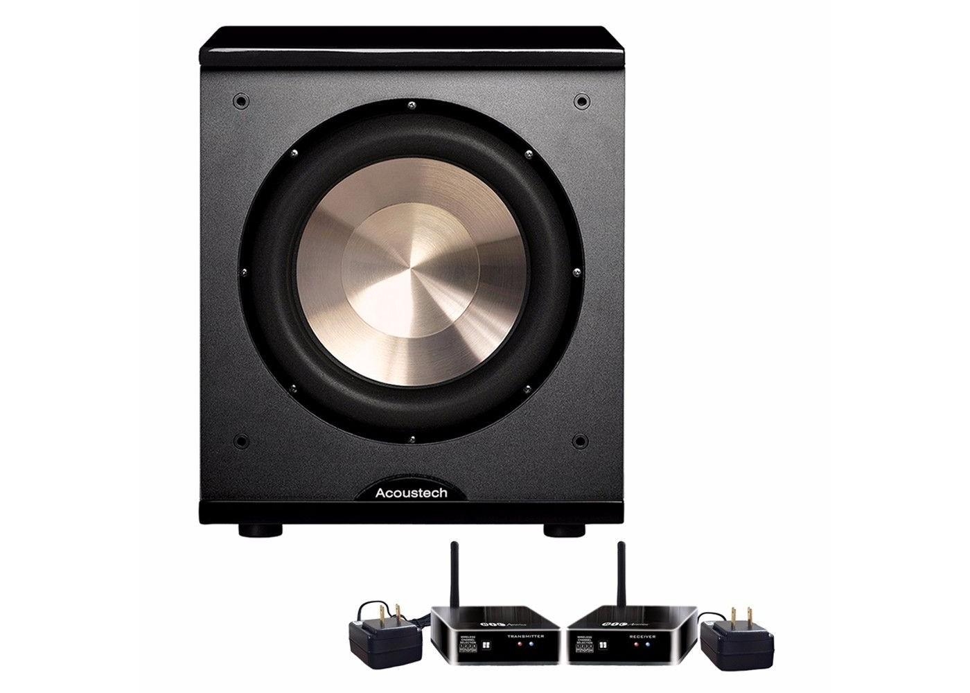 Bic Acoustech Platinum Series Pl 200 Wireless Subwoofer