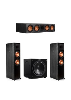 Klipsch 3.1 Piano Black System with 2 RP-8000F ,..