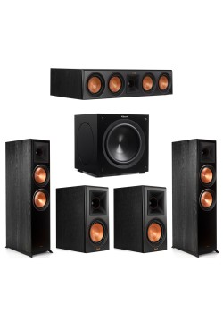 Klipsch 5.1 Piano Black System with 2 RP-8000F ,..