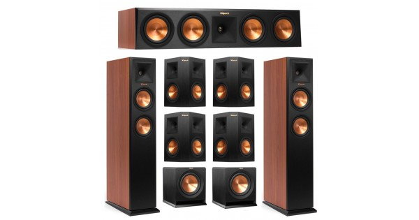 Klipsch 7 2 Cherry System With 2 Rp 250f Tower Speakers 1