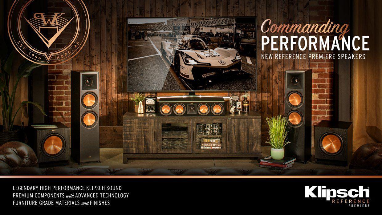 New Klipsch Reference Premiere - Klipsch RP Series - Acoustic Sound Design